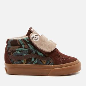 Vans Toddlers' Sk8-Mid Sloth Trainers - Potting Soil