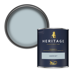 Dulux Heritage Eggshell Paint - Country Sky - 750ml