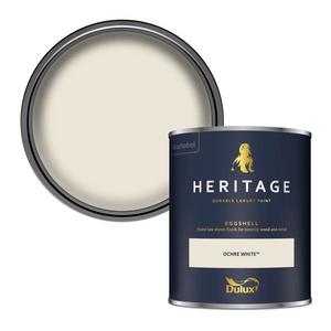 Dulux Heritage Eggshell Paint - Ochre White - 750ml