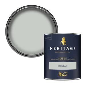Dulux Heritage Eggshell Paint - Green Slate - 750ml