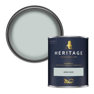Dulux Heritage Eggshell Paint - Green Oxide - 750ml