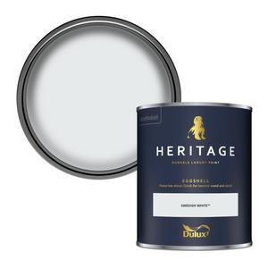 Dulux Heritage Eggshell Paint - Swedish White - 750ml