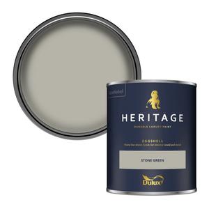 Dulux Heritage Eggshell Paint - Stone Green - 750ml