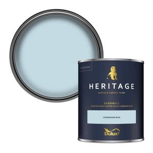 Dulux Heritage Eggshell Paint - Copenhagen Blue - 750ml