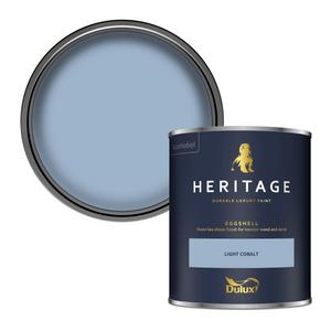 Dulux Heritage Eggshell Paint - Light Cobalt - 750ml