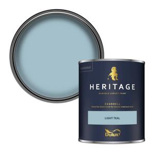 Dulux Heritage Eggshell Paint - Light Teal - 750ml