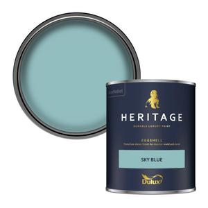 Dulux Heritage Eggshell Paint - Sky Blue - 750ml