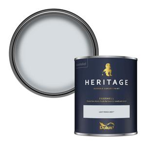 Dulux Heritage Eggshell Paint - Light French Grey - 750ml