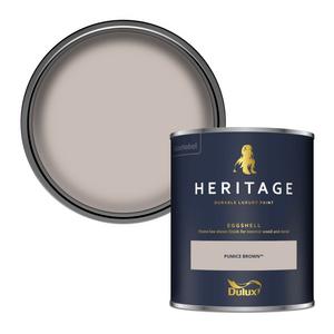 Dulux Heritage Eggshell Paint - Pumice Brown - 750ml