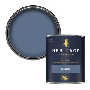 Dulux Heritage Eggshell Paint - DH Indigo - 750ml