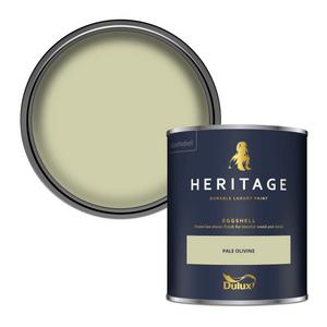 Dulux Heritage Eggshell Paint - Pale Olivine - 750ml