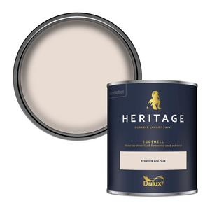 Dulux Heritage Eggshell Paint - Powder Colour - 750ml