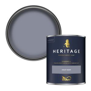 Dulux Heritage Eggshell Paint - Violet Night - 750ml