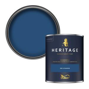 Dulux Heritage Eggshell Paint - Deep Ultramarine - 750ml
