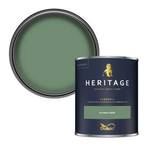 Dulux Heritage Eggshell Paint - DH Grass Green - 750ml