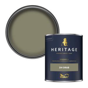 Dulux Heritage Eggshell Paint - DH Drab - 750ml