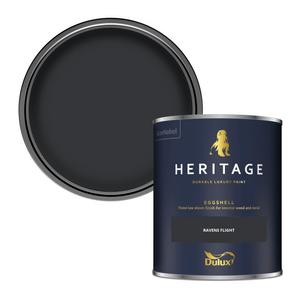 Dulux Heritage Eggshell Paint - Ravens Flight - 750ml