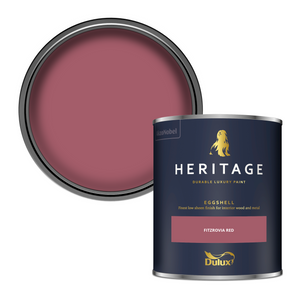 Dulux Heritage Eggshell Paint - Fitzrovia Red - 750ml