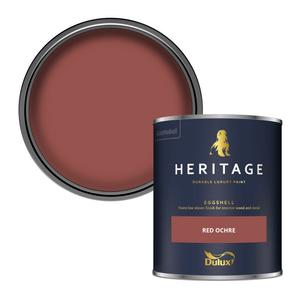 Dulux Heritage Eggshell Paint - Red Ochre - 750ml