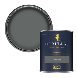 Dulux Heritage Eggshell Paint - Forest Grey - 750ml