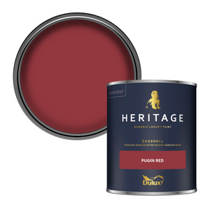 Dulux Heritage Eggshell Paint - Pugin Red - 750ml