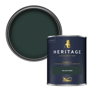 Dulux Heritage Eggshell Paint - Mallard Green - 750ml