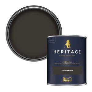 Dulux Heritage Eggshell Paint - Tudor Brown - 750ml