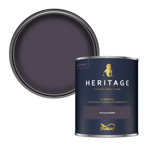 Dulux Heritage Eggshell Paint - Wild Blackberry - 750ml