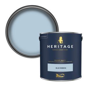 Dulux Heritage Matt Emulsion Paint - Blue Ribbon - 2.5L