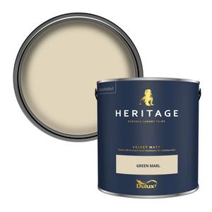 Dulux Heritage Matt Emulsion Paint - Green Marl - 2.5L