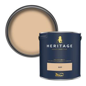 Dulux Heritage Matt Emulsion Paint - Buff - 2.5L