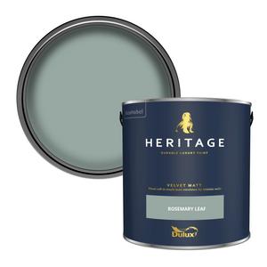 Dulux Heritage Matt Emulsion Paint - Rosemary Leaf - 2.5L
