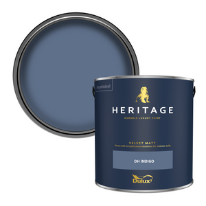 Dulux Heritage Matt Emulsion Paint - DH Indigo - 2.5L