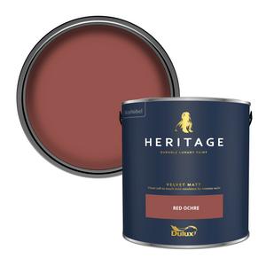 Dulux Heritage Matt Emulsion Paint - Red Ochre - 2.5L