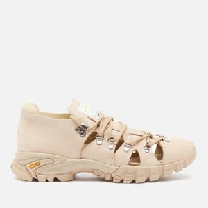 Diemme Women's Casonetto Nubuck Sandals - Sand Aqua