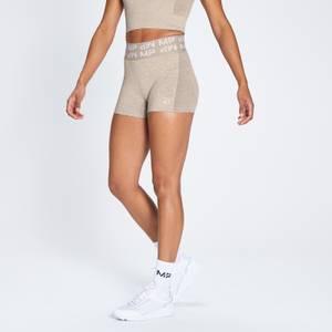 MP Curve Women's Booty Shorts - Sesame