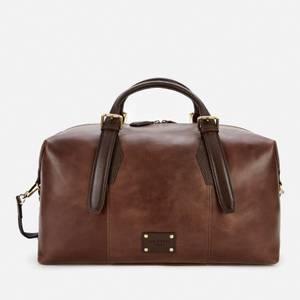 Ted Baker Men's Caiman Leather Holdall Bag - Brown