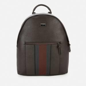 Ted Baker Men's Tysser Webbing Backpack - Chocolate Brown
