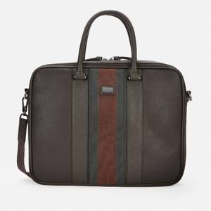 Ted Baker Men's Cherade Webbing Document Bag - Chocolate Brown