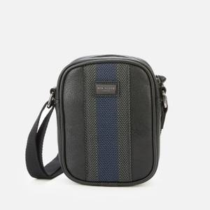 Ted Baker Men's Sundie Webbing Mini Flight Bag - Black