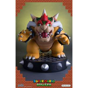 First 4 Figures Super Mario Bowser Resin Statue 48cm