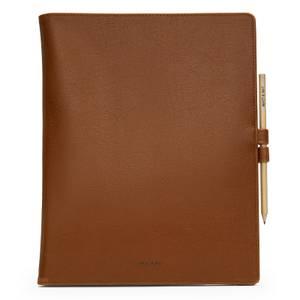 Matt & Nat Magistral Notebook and Pen - Chili