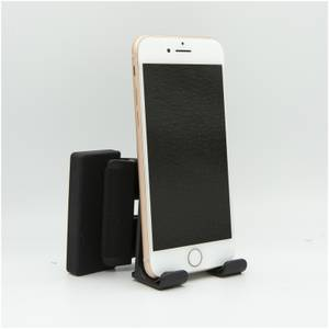 Computer Clip-On Phone Stand