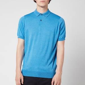 John Smedley Men's Cpayton Polo Shirt - Blue Reale