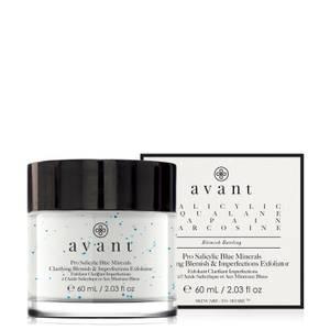 Avant Skincare Pro Salicylic Blue Minerals Clarifying Blemish and Imperfections Exfoliator 60ml