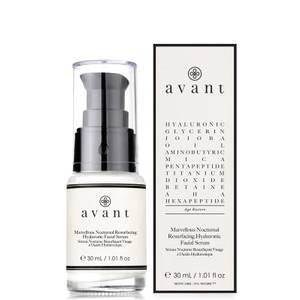 Avant Skincare Marvellous Nocturnal Resurfacing Hyaluronic Facial Serum 30ml