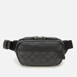 Coach Men's Charter Mini Sling Bag - Charcoal