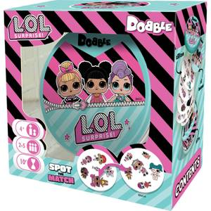 Dobble Card Game - LOL Surprise Sleeved Edition