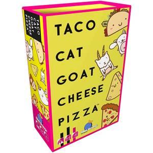 Juego de cartas de la pizza de queso de cabra Taco Cat