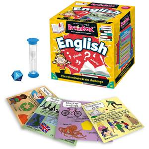 BrainBox Card Game - English Edition Refresh (55 cards)